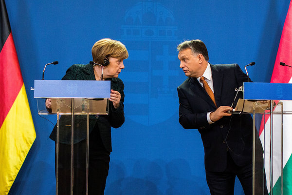 German Chancellor Rules Out Weapons Aid to Ukraine