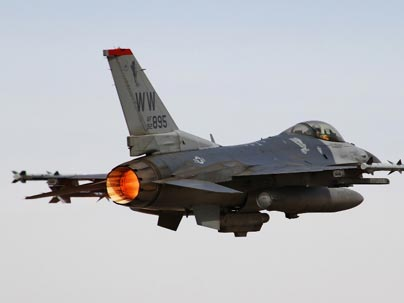 American F-16s Aren't Supposed to Dogfight MIG-29s and Su-27s