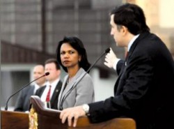 Condoleezza Rice does not wish even to see Saakashvili any more