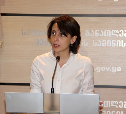 Former Education Minister Khatia Dekanoidze to Form New Enough Movement in Ukraine