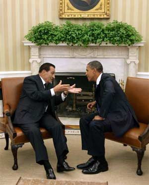 Why did Obama call for Saakashvili?