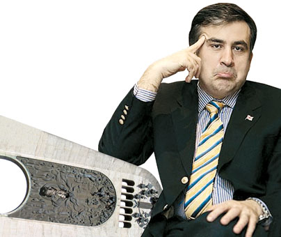 """On Saint Nicholas Day Saakashvili wished his son many happy returns of the day, and made my eight-year-old angle die in my hands"""