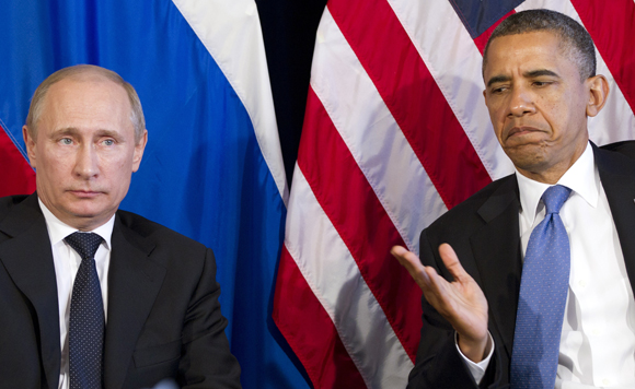 Americans see Putin as only slightly more imminent threat than Obama, poll says